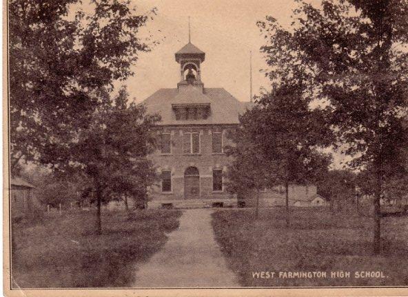 Second School built in West Farmington.
