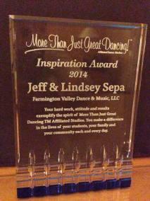 Inspiration Award - Lindsey and Jeff Sepa