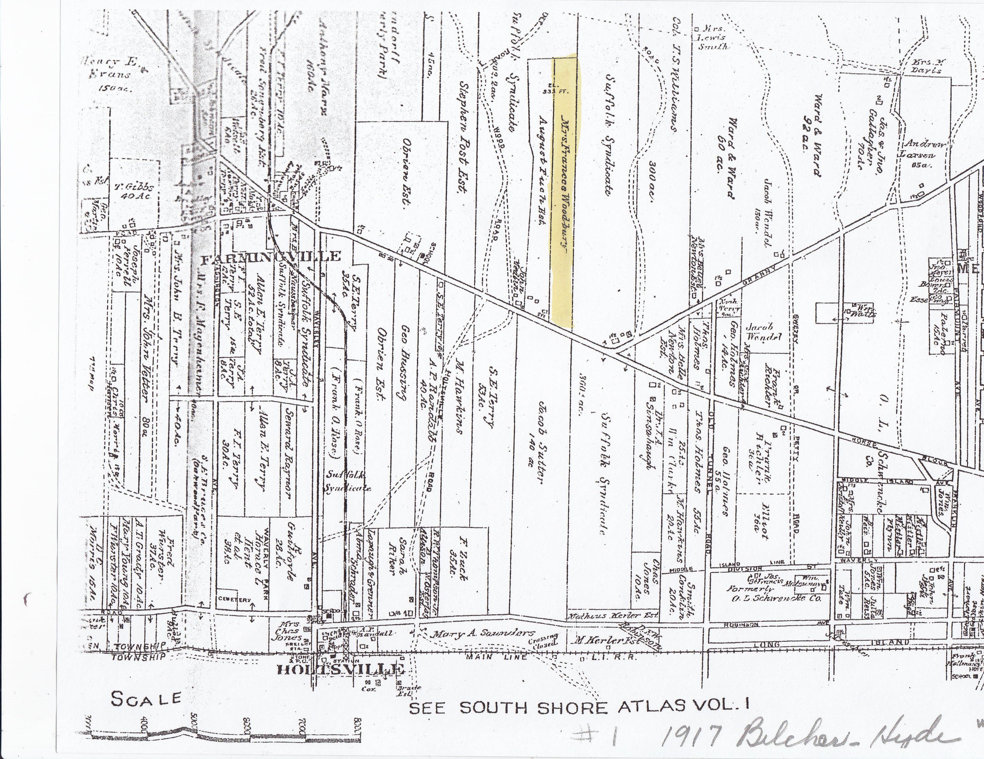Historic Maps :: Farmingville Historical Society