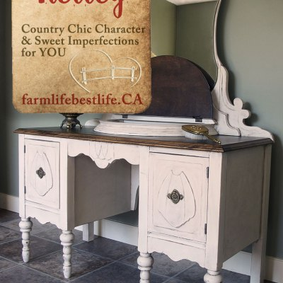 Vintage Vanity with a Story Made for You