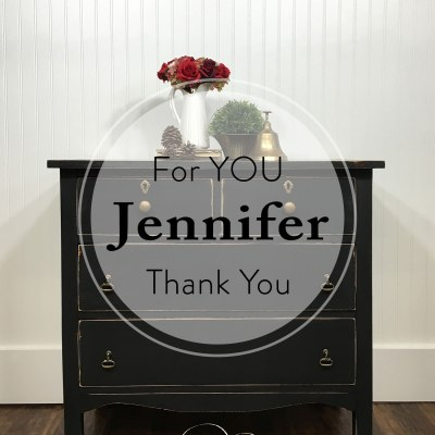 A Dresser for YOU Jennifer