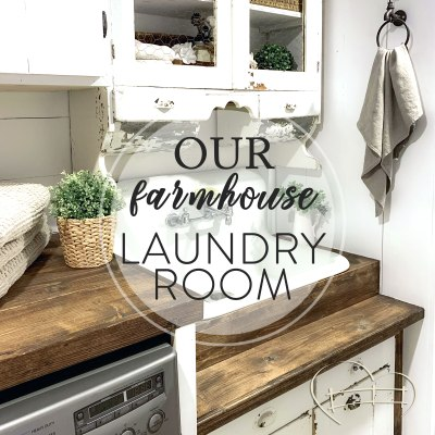 Farmhouse Laundry Room Heaven