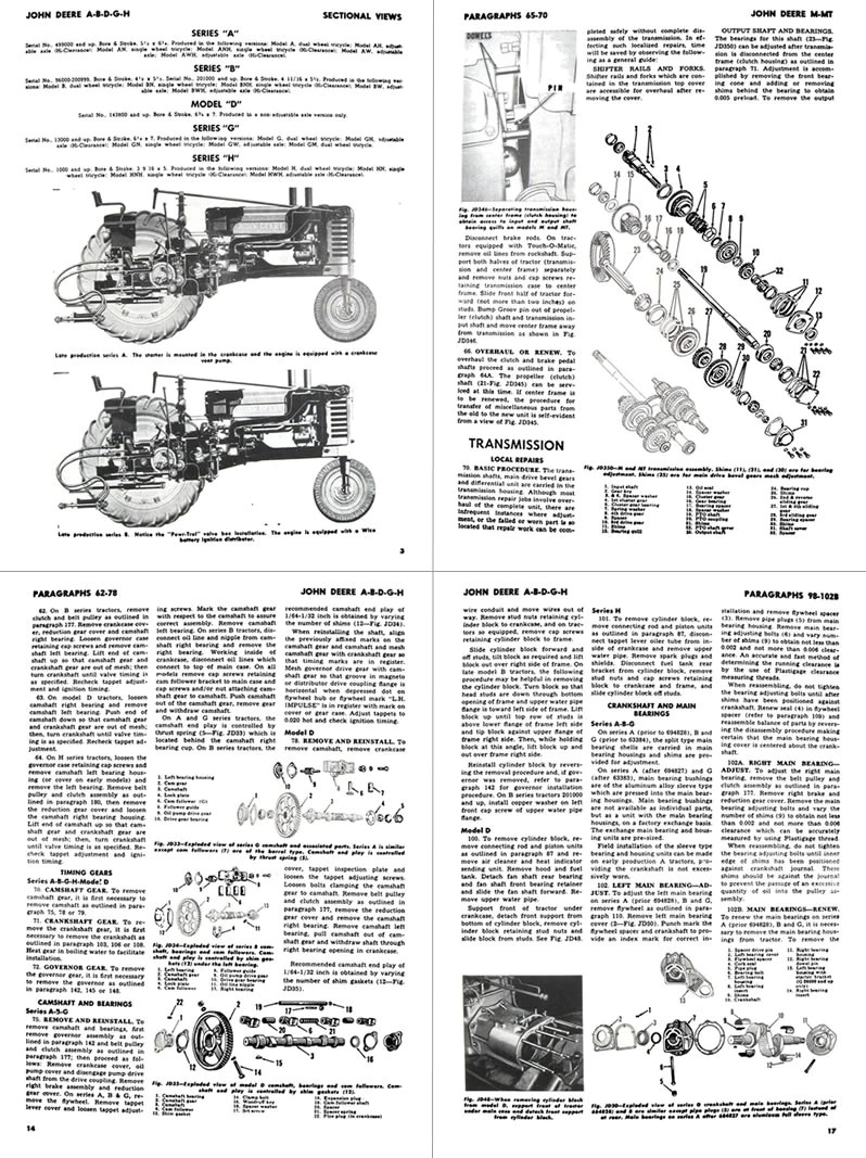 medium resolution of  additional pictures of the john deere a b g h d