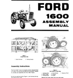 additional pictures of the ford 1600 tractor manual  [ 840 x 1087 Pixel ]