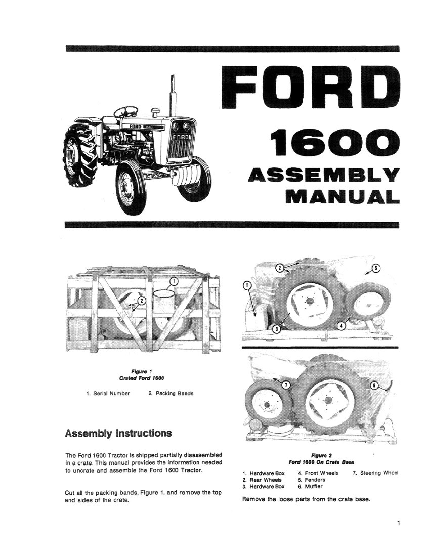 medium resolution of additional pictures of the ford 1600 tractor manual