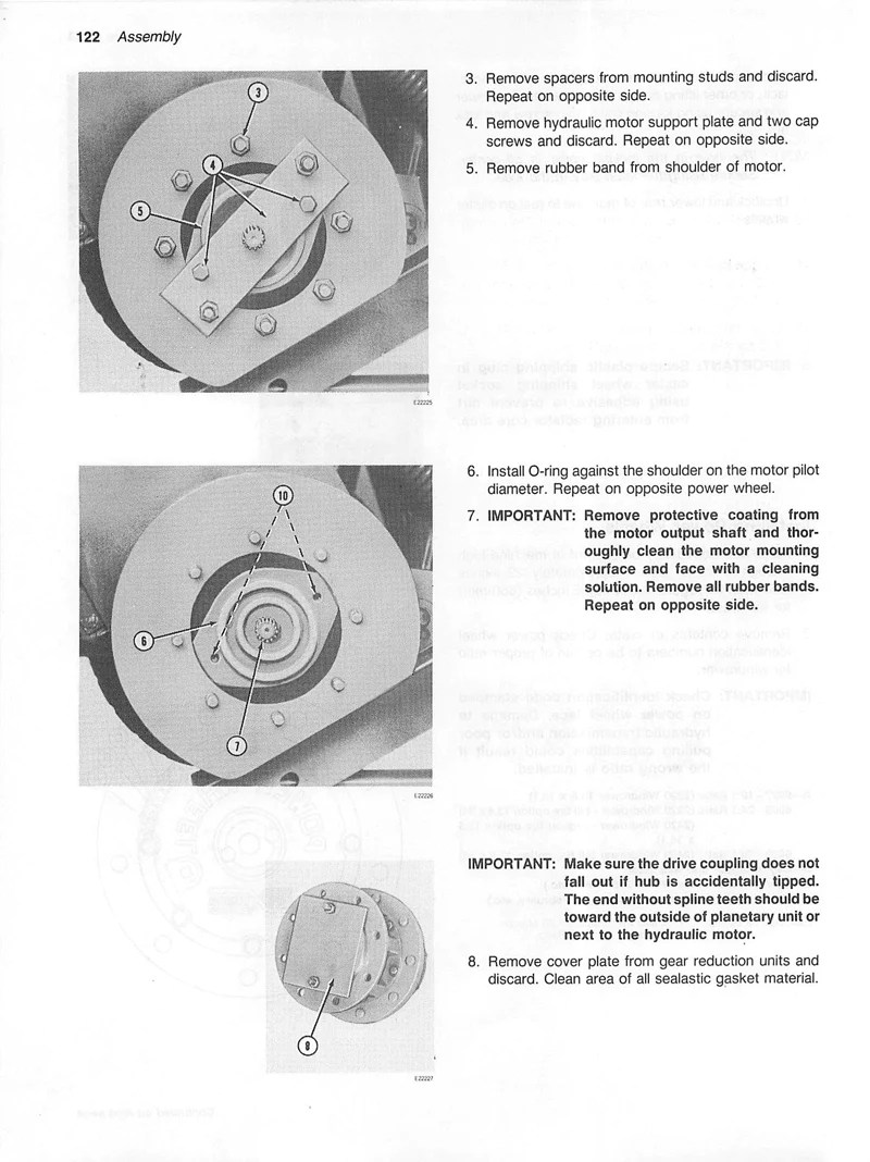 medium resolution of additional pictures of the john deere 2320 and 2420 windrower manual