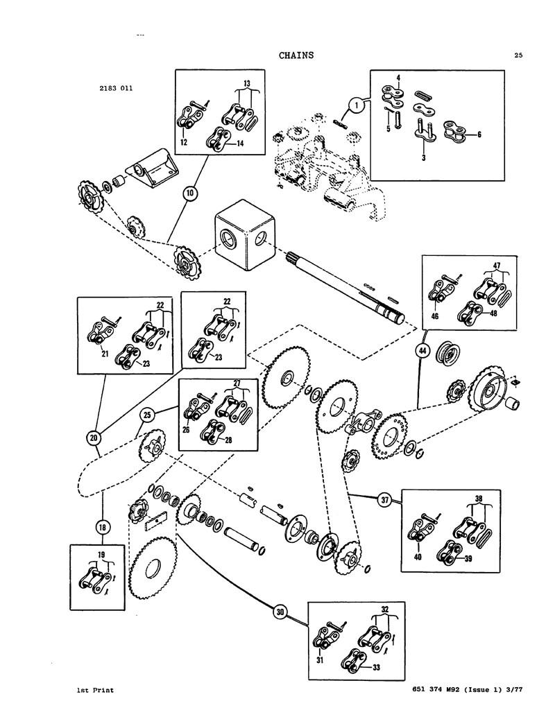 Massey ferguson 120 124 126 128 and 130 baler parts manual rh farmmanualsfast hay baler