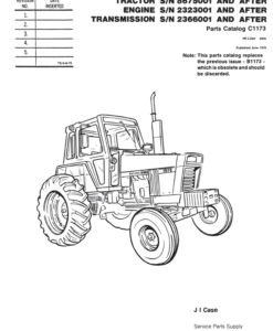 Case 930 Comfort King Draft-o-Matic Wheel Tractor PDF 9.99