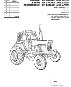 Case 930 Comfort King DraftoMatic Wheel Tractor PDF 999
