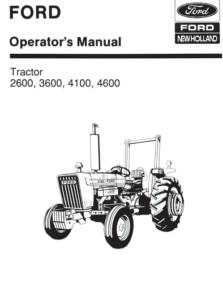 Ford 2600 3600 4100 4600 Manual PDF 9.99