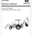 Ford 340B 445A 540B 545A Tractor Manual PDF 9.99