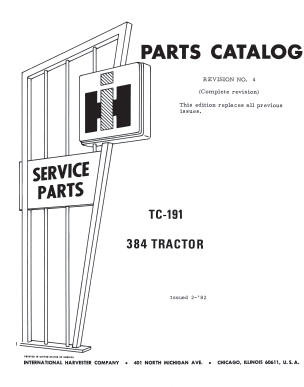 International 384 Parts Catalog PDF 4.99