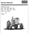 Ford 7710 Tractor Manual PDF 9.99