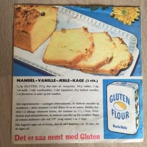 Mandel-vanille-æble-kage