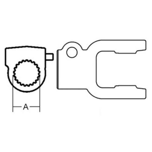 Ford New Holland 87517827 Constant Velocity Free Rotation