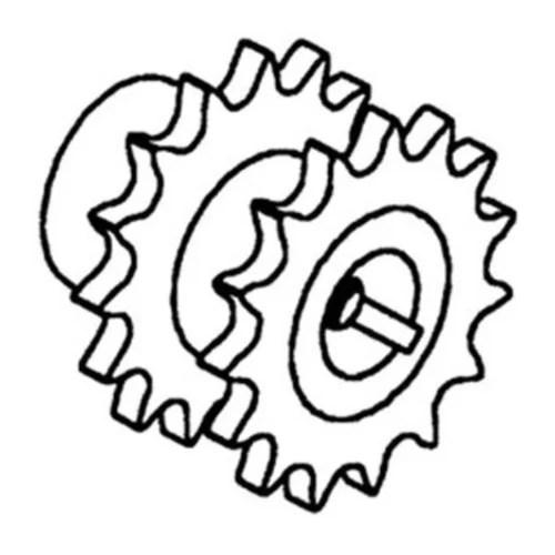 Aftermarket for John Deere AH134873 Separator Fan Sheave