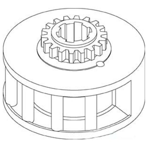 Aftermarket for John Deere T30755 Power Shaft Clutch Gear