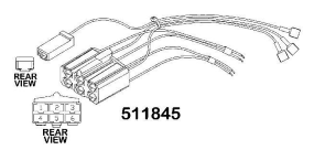 TRACTOR RADIO HARNESS