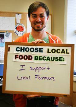 """""""I support Local Farmers"""""""