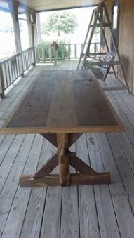 farm table by Mike