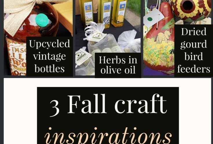 Three Fall craft ideas inspired by a walk through a local farmers market