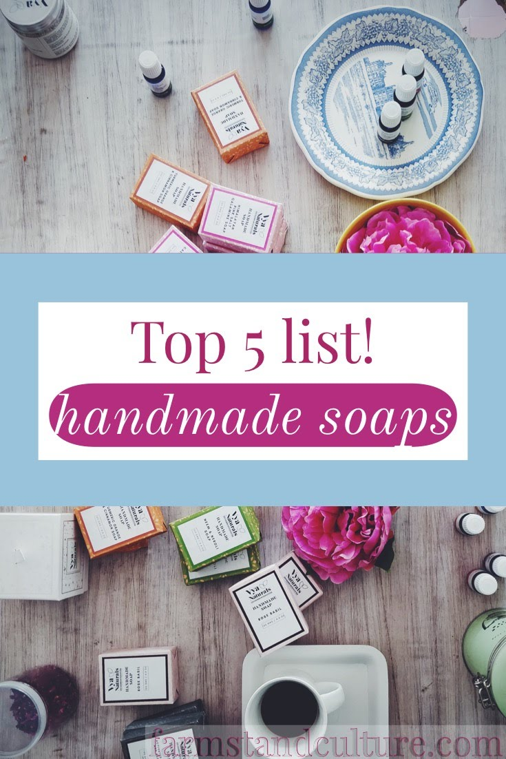 View and shop the Top 5 Bestselling Handmade Soaps from Amazon's Handmade Marketplace