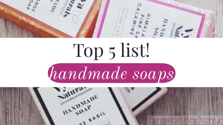 Top 5 Handmade Soaps on Amazon Handmade Marketplace