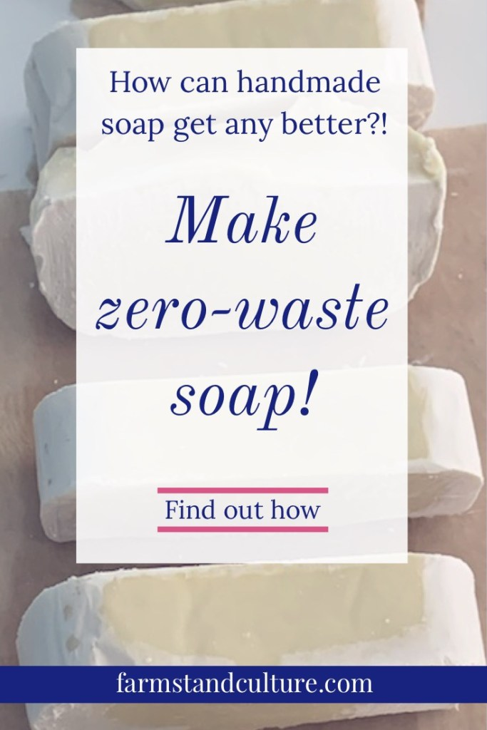 Find out how I use any old oils laying around the house to make zero waste homemade soap. DIY soap at its best!