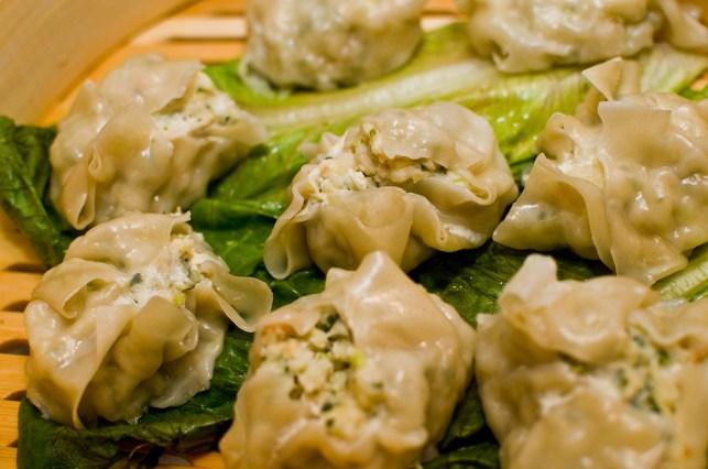 Cilantro Chicken Dumplings