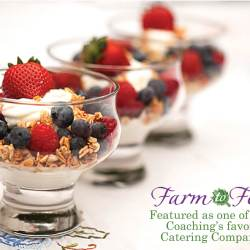 Farm to Feast featured on favorite caterers list