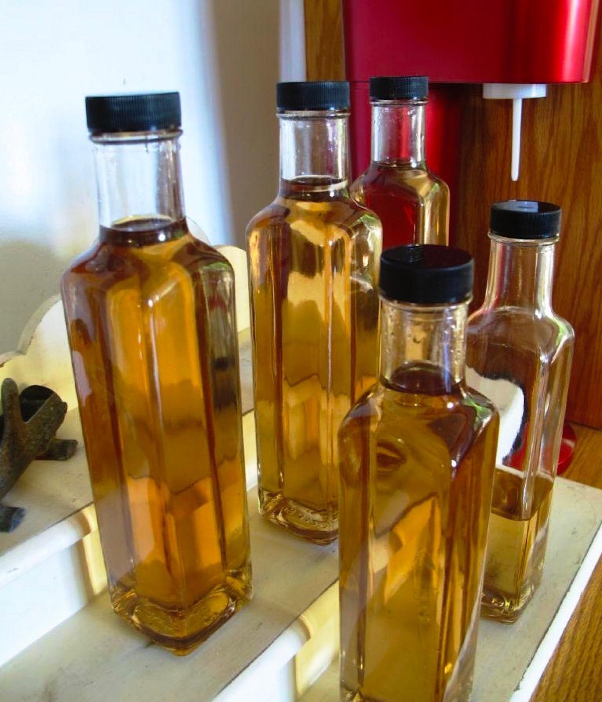 DIY Cinnamon Vanilla Star Anise simple syrup