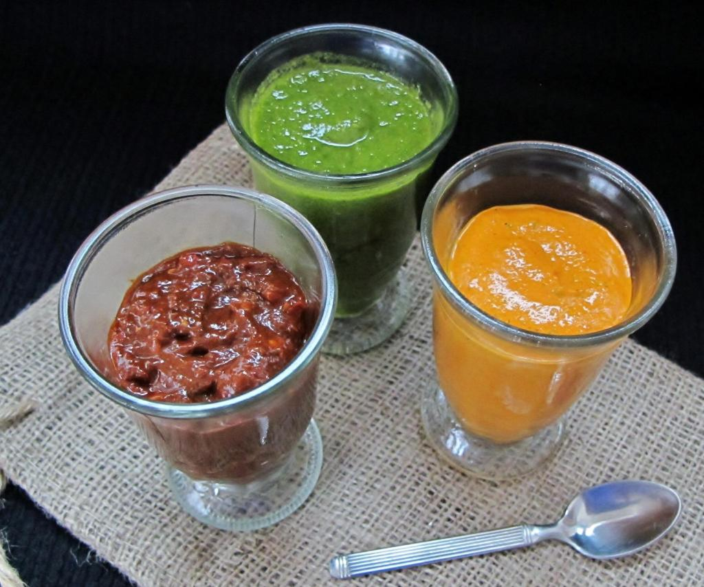Slow Carb Sauces: Harissa, Romesco & Chimichurri
