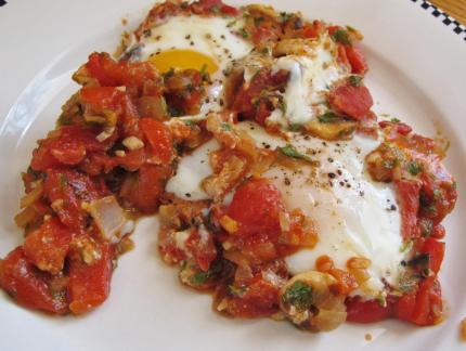 Mediterranean Baked Eggs for Dinner