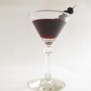 Blueberry Tarragon Shrub Martini