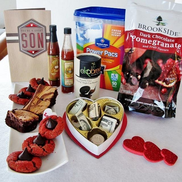 Valentine's College Care Package for the Boy