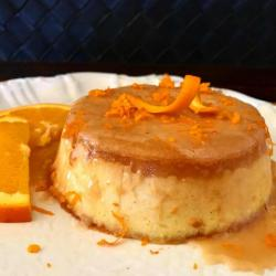 Low Carb (Keto Friendly) Mexican Orange Flan