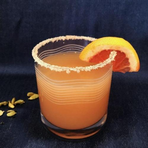 Classic Salty Dog Cocktail