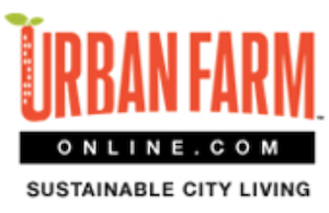 Urban Farm Online.com Susatainable City Living logo