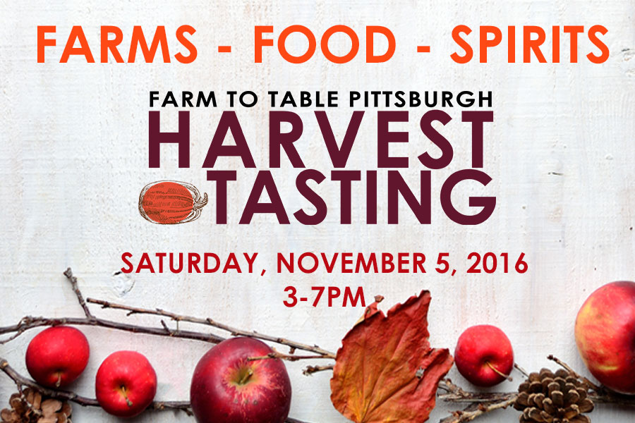 Farm to Table Pittsburgh Hosts 5th Annual Harvest Tasting