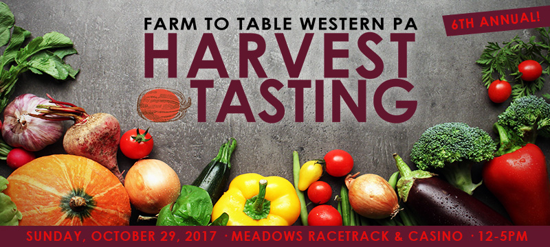 2017 Farm to Table Western PA Harvest Tasting Event