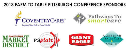 2013 Farm to Table Conference Sponsors