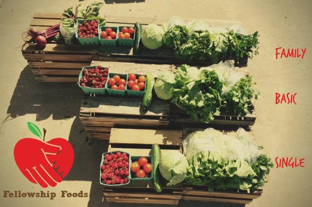veggie subscription sizes