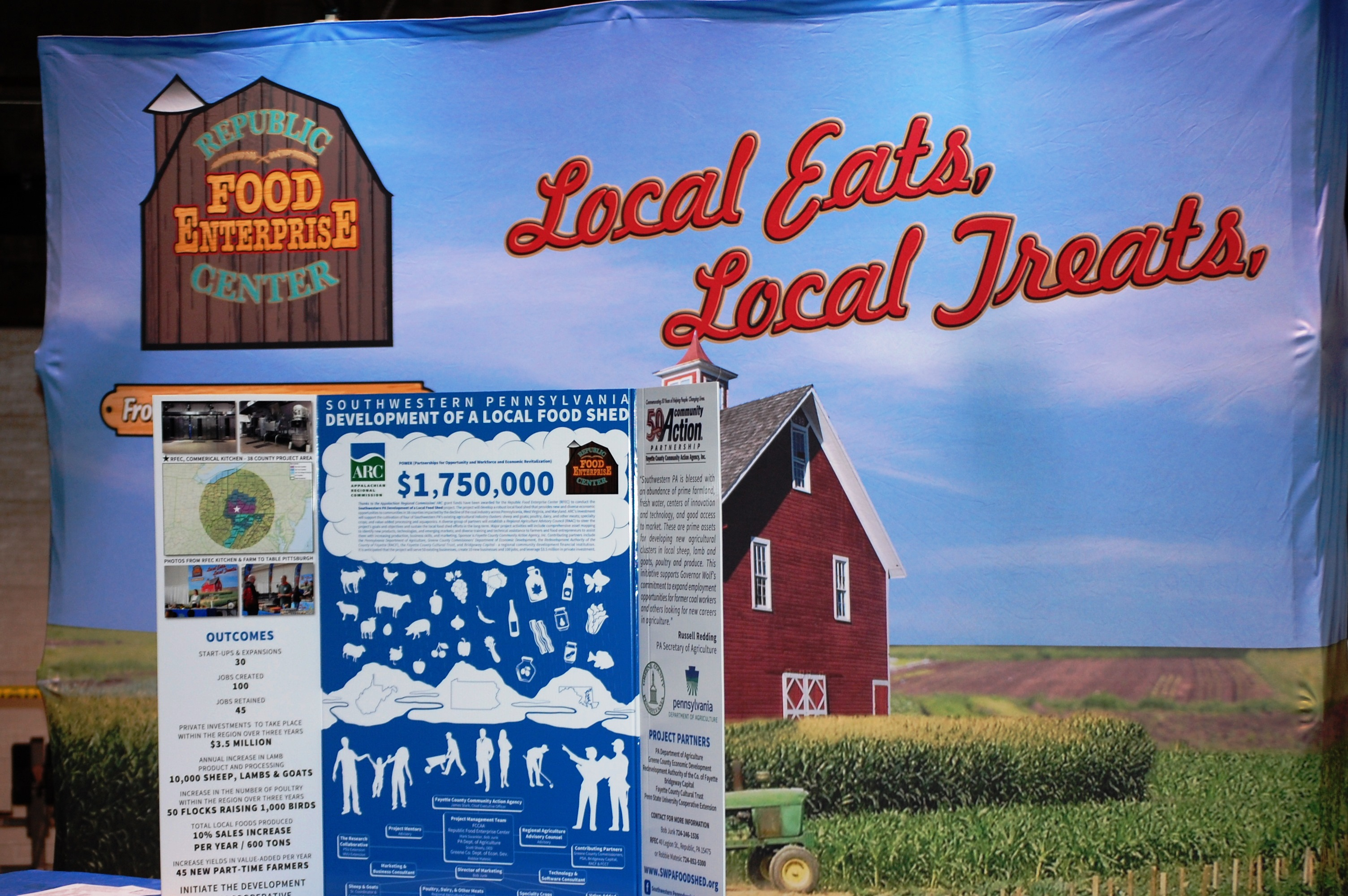 Recap and Photos: SW PA Local Food Shed Inaugural Event
