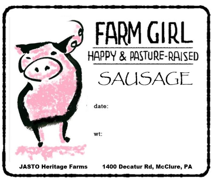 Grass Fed Heritage Pork / Pasture Raised Whole Chicken
