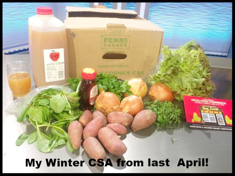 Buy real food from a local farm this winter!