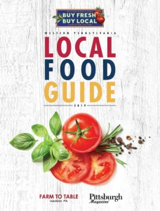 Pittsburgh local food guide print version