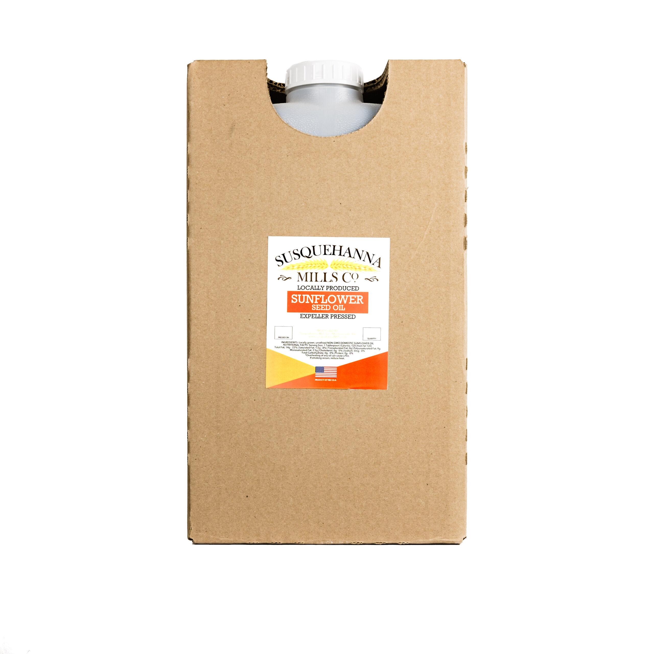 Non-GMO Sunflower oil 35# jug