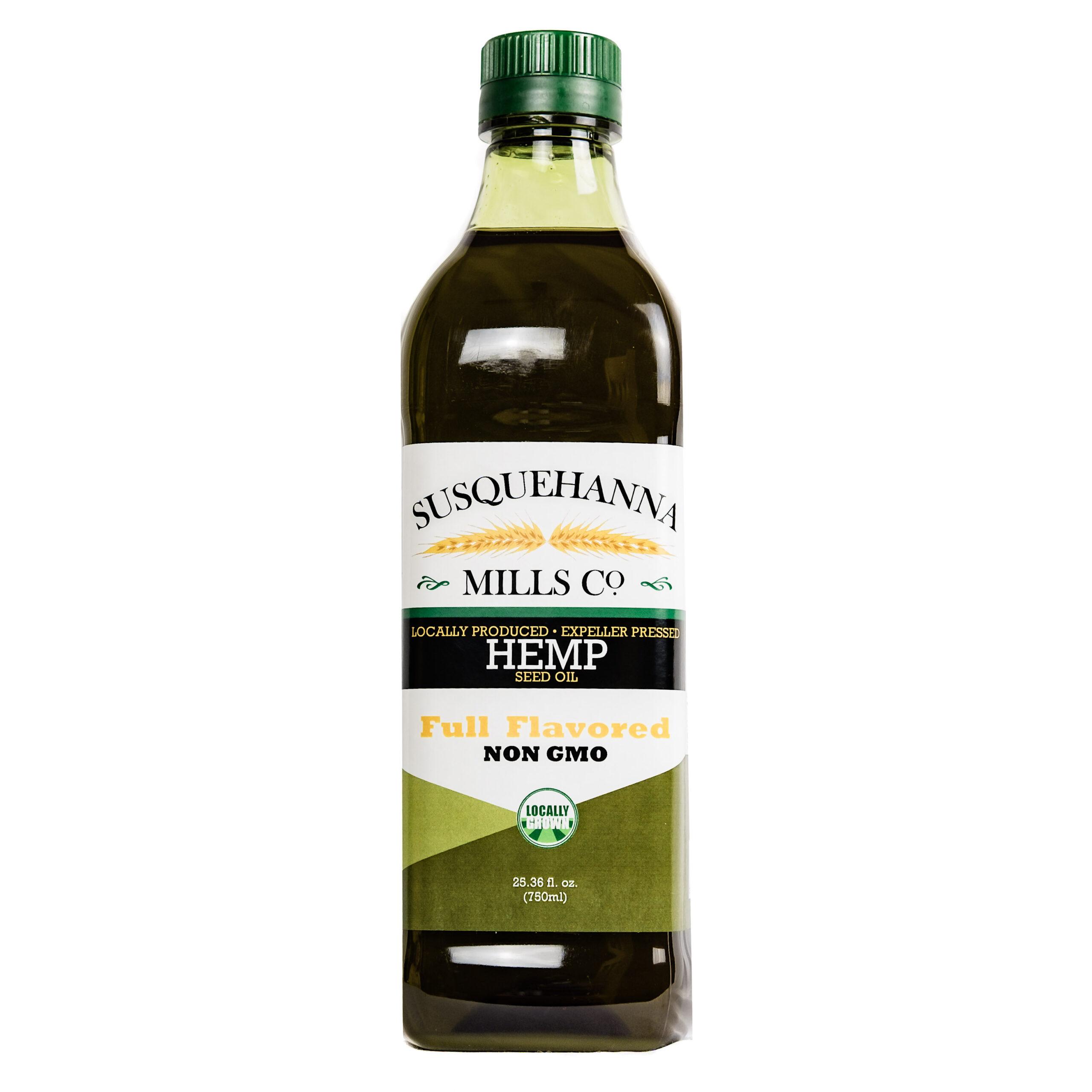 non-GMO Hemp Seed Oil