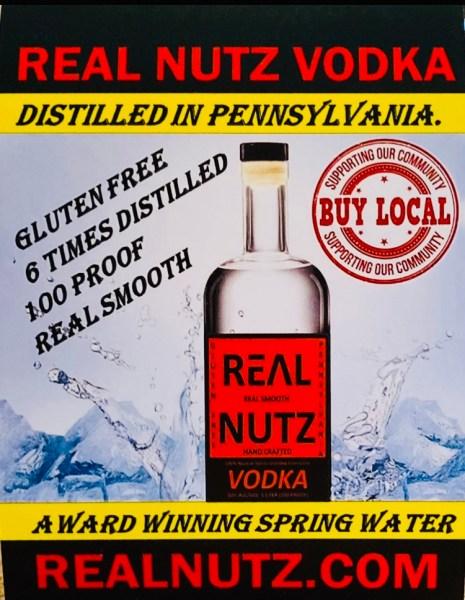 Real Nutz Vodka