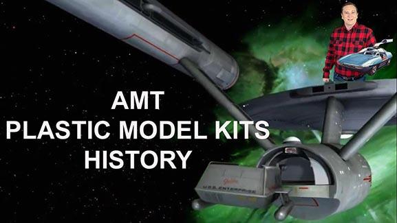 AMT MODEL KITS HISTORY, 1 to 1 Star Trek Movie Prop Galileo & Model Kits, & AMT Plastic Kits TODAY!
